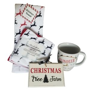 Christmas Reindeer 4pc Gift Set